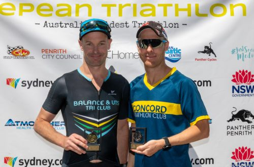 2nd in AG at Nepean Triathlon