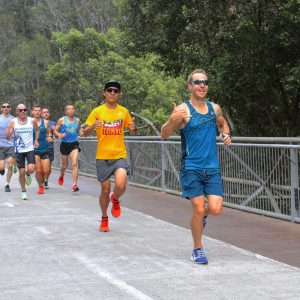 Running 5km at Parkrun